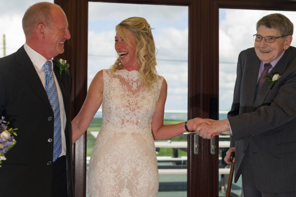 Dis and Jules Ring Blessing in Cornwall - Cornish Celebrants - Wedding Day