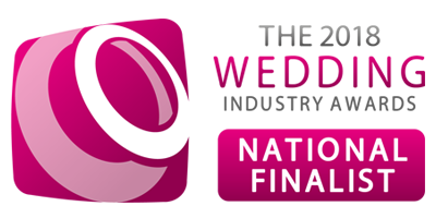 National Finalist - 2018 Wedding Industry Awards