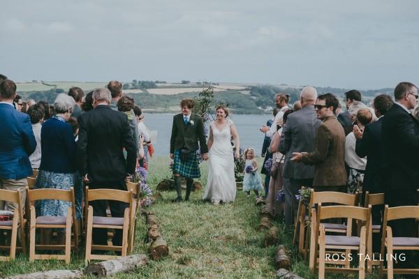 Heather and Al's Outdoor Celebrant Ceremony - Cornish Celebrants - Ross Talling Photography