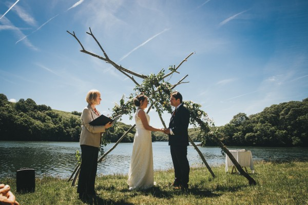 Chris and Sarah's Relaxed and Informal Ceremony near the Helford River - Cornish Celebrants - Arianna Fenton Photography
