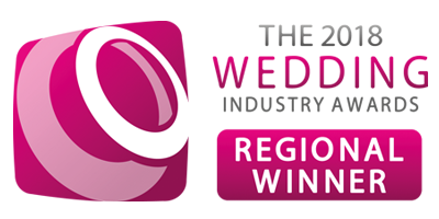 Regional Winner - 2018 Wedding Industry Awards