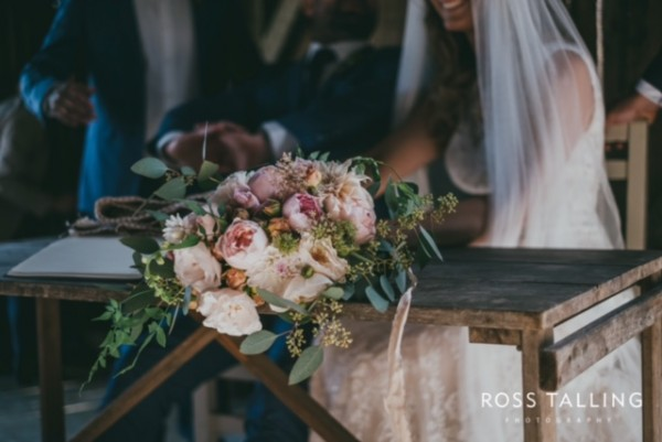 Chris & Emma-Kate's Rustic Farm Wedding - Cornish Celebrants - Ross Talling Photography