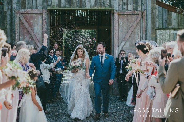 Chris & Emma-Kate's Rustic Farm Wedding - Cornish Celebrants - Ross Talling Photography