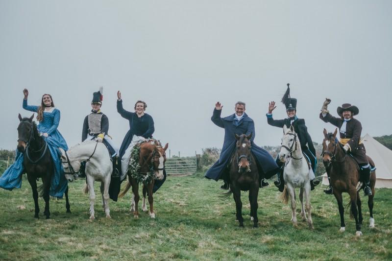 Matt & Melissa's Unique Farm Wedding - Cornish Celebrants - Ross Talling Photography